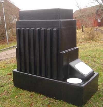 Реактор компостерного туалета