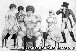 В 18 веке о встроенных биде и не подозервали