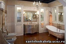 пример ванной комнаты Lineatre