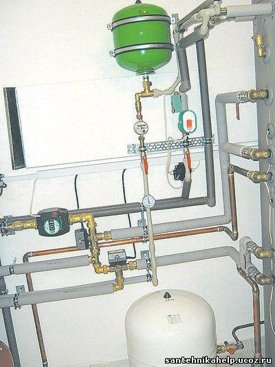 системы отопления и горячего водоснабжения